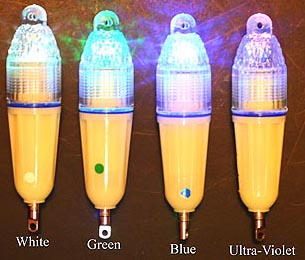 underwater water fishing lights for sports fishermen., Reel Combo